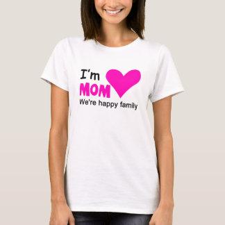 I'm Mom Family Couple Women's Basic T Shirt