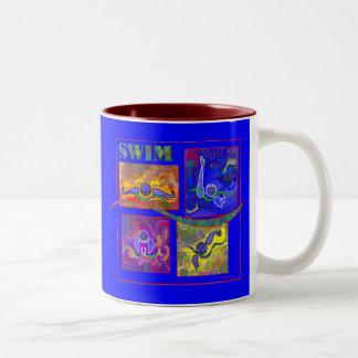 IM Morning Colorful Swim Mug