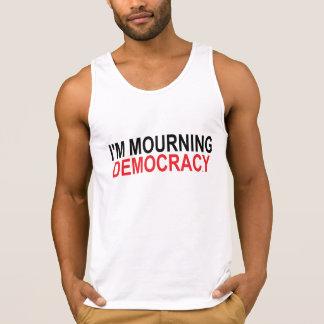 I'm Mourning Democracy Singlet