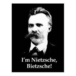 I'm Nietzsche, Bietzsche! Postcard