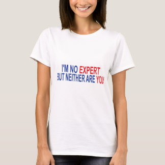 I'm No Expert but Neither Are You T-Shirt