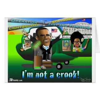 I'm Not a Crook Card