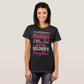 Im Not A Daddy Little Girl Im Soldier Daughter Tee