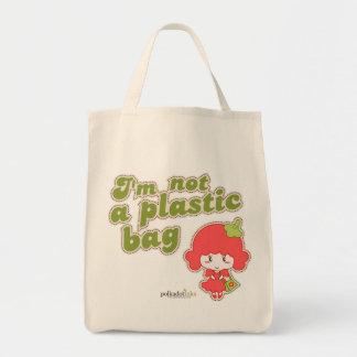 I'm Not A Plastic Bag Campaign Organic version