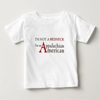 I'm not a redneck,, I'm an Appalachian American! Baby T-Shirt