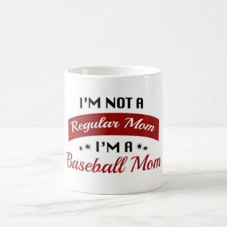 I'm Not A Regular Mom Baseball Mug