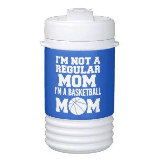 I'm not a regular mom, I'm a basketball mom funny Cooler