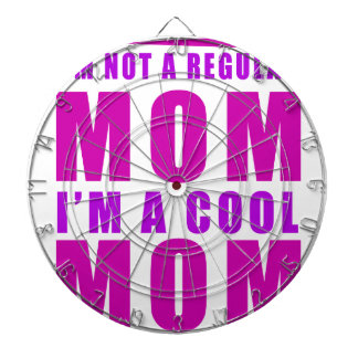 I'm not a regulus mom i'm cool mother dartboard with darts