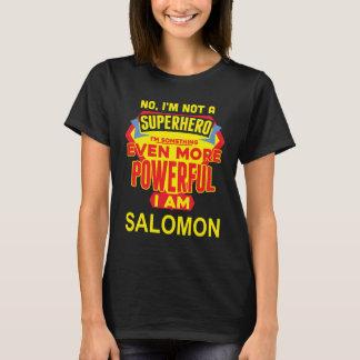 I'm Not A Superhero. I'm SALOMON. Gift Birthday T-Shirt