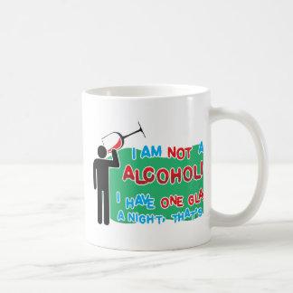 I'm NOT an alcoholic! Basic White Mug