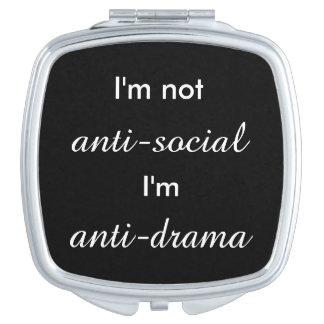 I'm not anti-social.. travel mirror