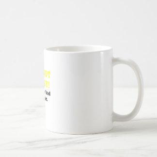 Im Not Bossy Youre a Bad Listener Basic White Mug