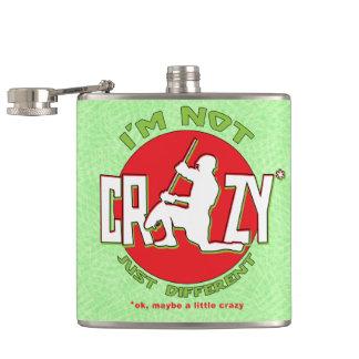 I'm Not Crazy, Lacrosse Goalie Hip Flask