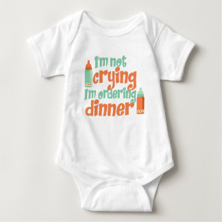 I'm Not Crying Baby Jersey Bodysuit