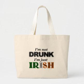 I'm not drunk, I'm just Irish Tote Bags