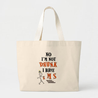 I'm Not DRUNK...MS Jumbo Tote Bag
