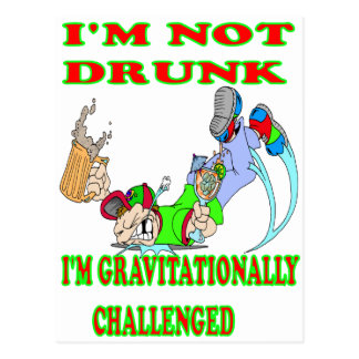 I'm Not Drunk Postcard