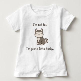I'm Not Fat. I'm Just a Little Husky. Baby Romper Baby Bodysuit