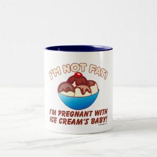 I'm not fat! I'm pregnant with Ice Cream's baby! Coffee Mug