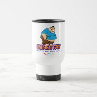 I'm Not Fat Travel Mug