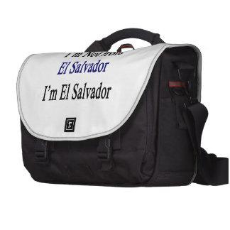 I'm Not From El Salvador I'm El Salvador Commuter Bag