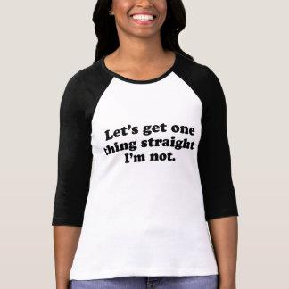 I'm not gay T-shirt