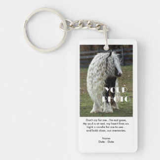 I'm Not Gone Pet Memorial Keychain