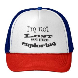 I'm not lost, I'm just exploring! Cap