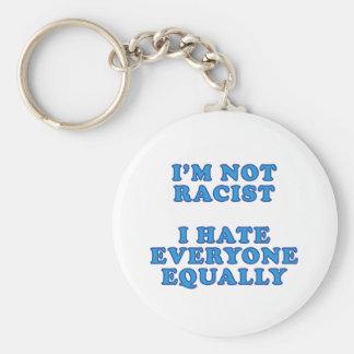 I'm Not Racist Key Ring
