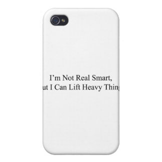 I'm Not Real Smart Case For iPhone 4