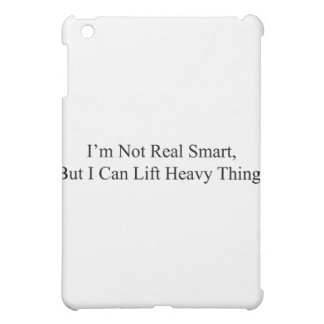 I'm Not Real Smart iPad Mini Cases