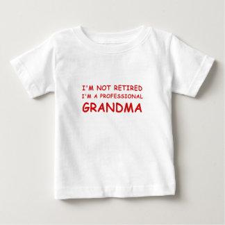 Im not Retired Im a Professional Grandma Baby T-Shirt