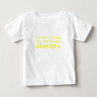 Im not Retired Im a Professional Grandpa Baby T-Shirt