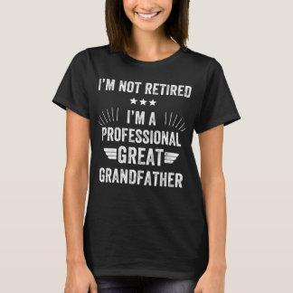 I'm not retired I'm a professional great grandfath T-Shirt