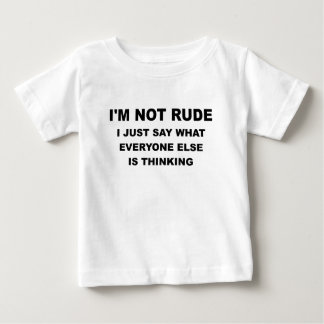IM NOT RUDE.png Shirts