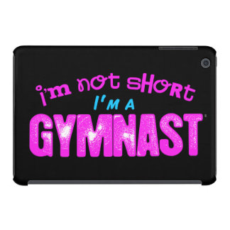 I'm Not Short, I'm a Gymnast Pink and Blue iPad Mini Cover