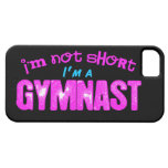 I'm Not Short, I'm a Gymnast Pink and Blue iPhone 5 Covers