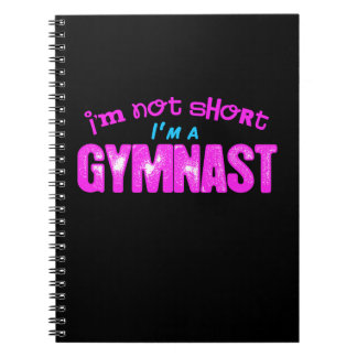 I'm Not Short, I'm a Gymnast Pink and Blue Notebooks
