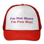 I'm Not Short, I'm Fun Size! Mesh Hats