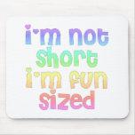 I'm not short I'm fun sized mouse pad
