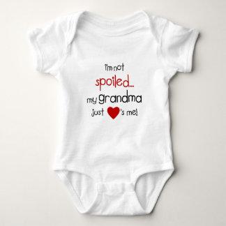 I'm Not Spoiled... My Grandma Just Loves Me! Baby Bodysuit