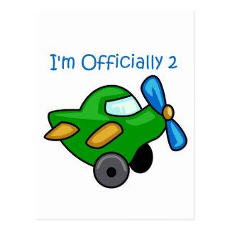 I'm Officially 2, Jet Plane Postcard
