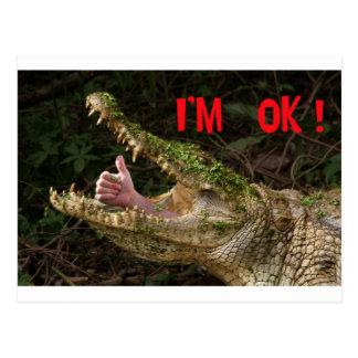 I'm ok ! postcard