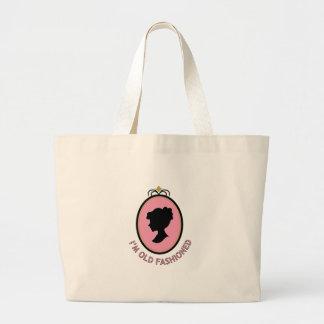 I'm Old Fashioned Jumbo Tote Bag