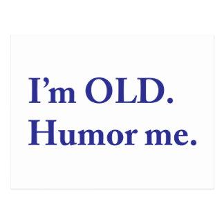 I'm OLD. Humor me. Postcard