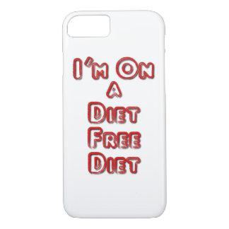 I'm On A Diet Free Diet iPhone 8/7 Case