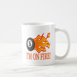 Im On Fire Basic White Mug