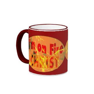 I'm on fire for CHRIST Coffee Mug