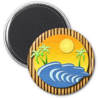 I'm On Island Time Refrigerator Magnet