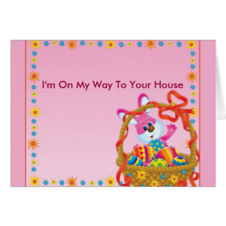 I'm on my way to your house! greeting cards